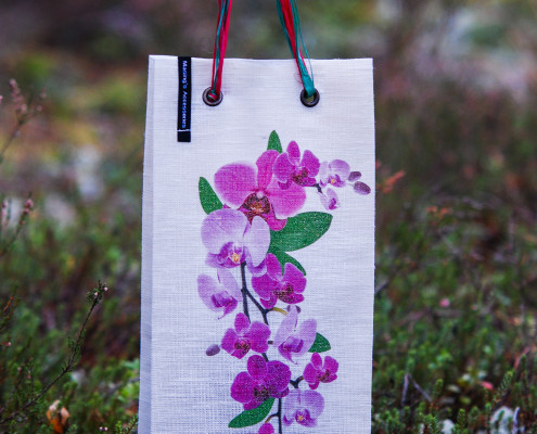 Printed Orchid